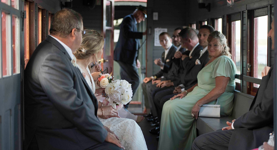 bridal party on a train in maine.jpg