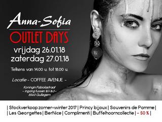 Anna-Sofia OUTLET DAYS