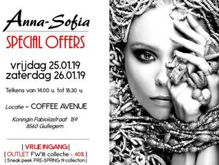 Anna-Sofia - SPECIAL OFFERS