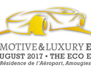 Anna-Sofia nodigt u graag uit op Automotive Luxury op 26 of 27 augustus!