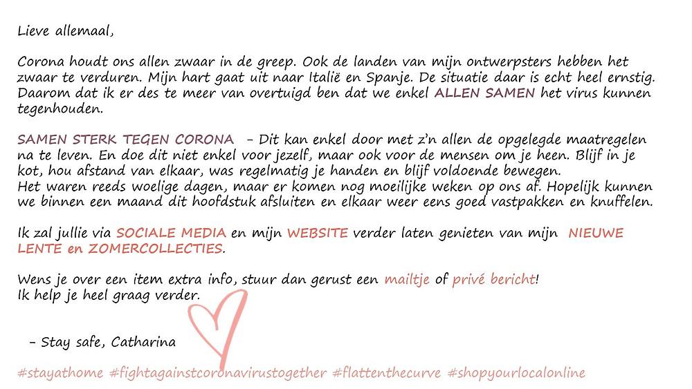 #blijfinjekot #shoplocalonline