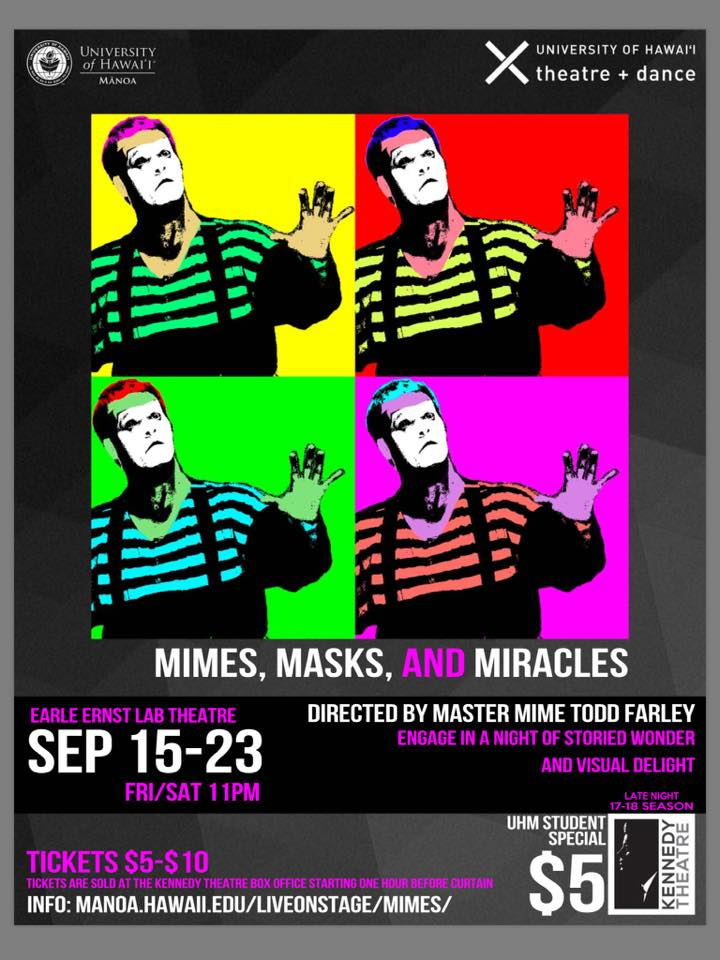 Mimes Masks and Miracles