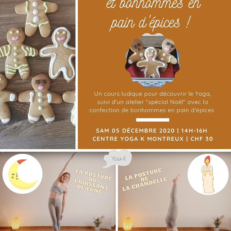 ATELIER YOGA & BONHOMMES EN PAIN D'ÉPICES