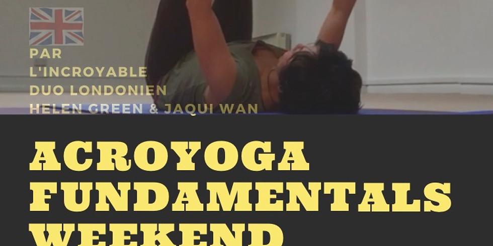 ACROYOGA Fundamentals Weekend