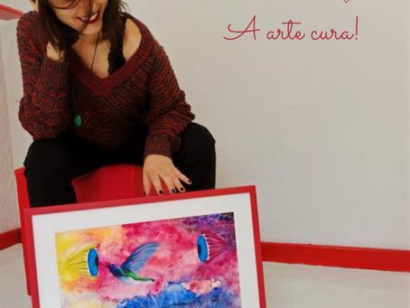 """Você também já ouviu dizer que """"a arte cura""""?"""