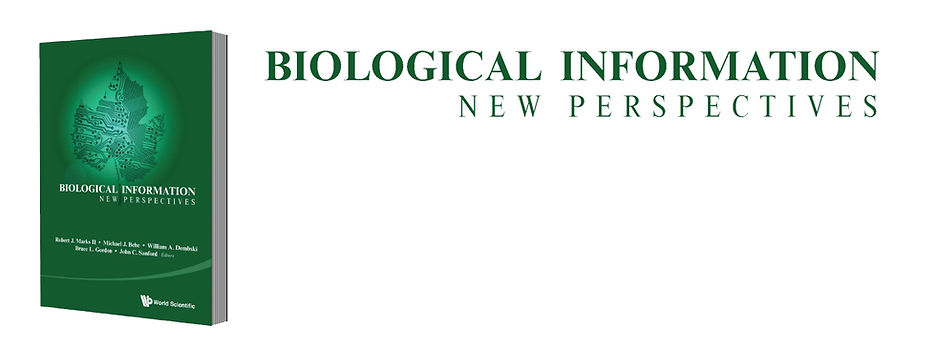 Biological Information New Perspectives