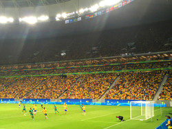 Estadio 1 - Jogo do Brasil