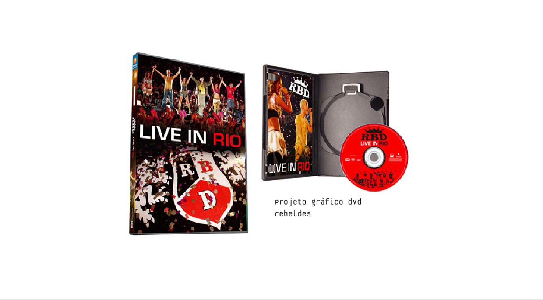 DVD Bannda Rebeldes