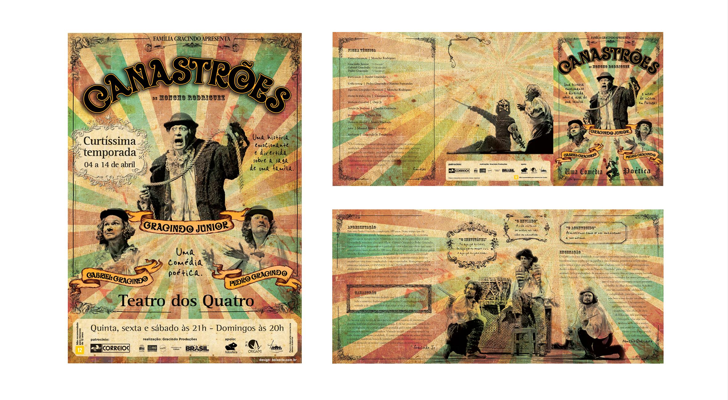 Peça Canastroes com Gracindo Jr.