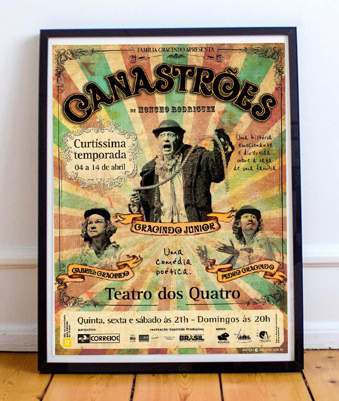Poster Peça Canastroes