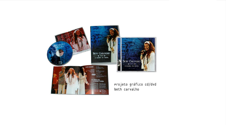 CD e DVD Beth Carvalho