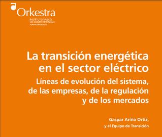 La transición energética en el sector eléctrico.