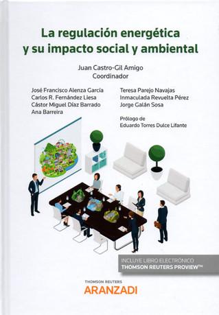 """Publicada la obra """"La regulación energética y su impacto social y ambiental"""""""