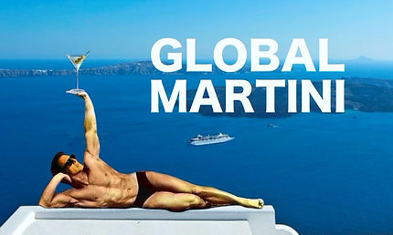 A modern tastemaker for the sophisticated  - yet casual -  cocktail lifestyle.  An adventure is always on the horizon with GLOBAL MARTINI, even in Santorini.