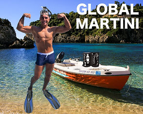 A modern tastemaker for the sophisticated  - yet casual -  cocktail lifestyle.  An adventure is always on the horizon with GLOBAL MARTINI, especially in Corfu.