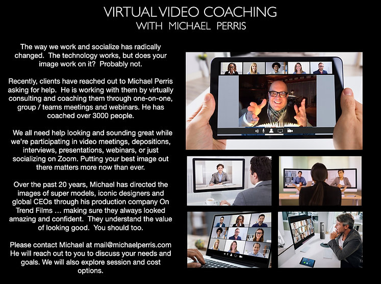Virtual Video Coaching with Michael Perris