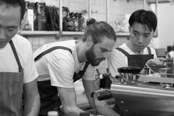 Coffee team @Blackbird & Co