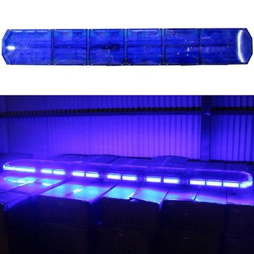 全長210cm LED 回転灯 パトライト ラウンドタイプ【ブルー】