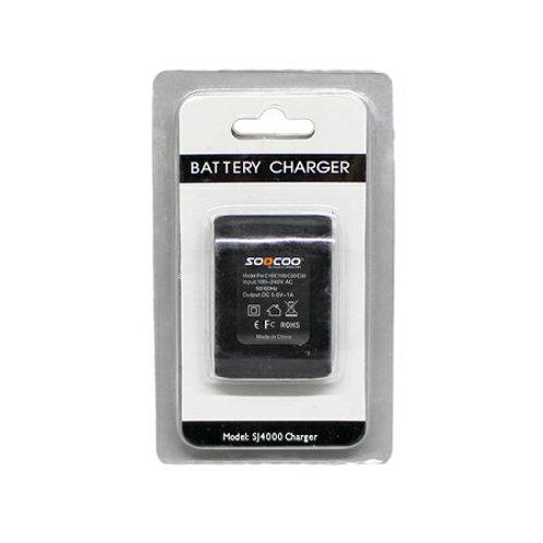 SOOCOO アクションカメラ用バッテリーチャージャー アクションカメラC60用バッテリー対応! 予備電池の充電に!