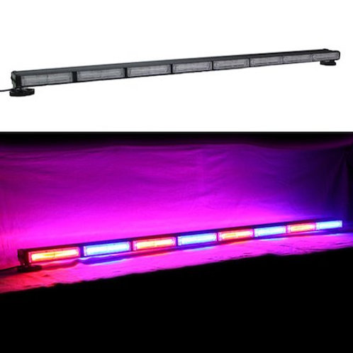 全長127.5cm LED 回転灯 パトライト バータイプ 赤 + 青