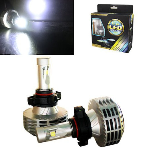 ★86、BRZ★ LEDヘッドライト PSX24 ファンレス一体型 12~24V対応 2500Lm