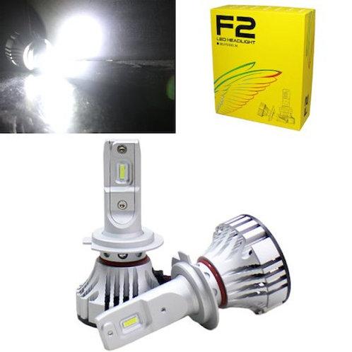 ★コンパクト★ LEDヘッドライト H7 ファン一体タイプ 6000lm 6500K