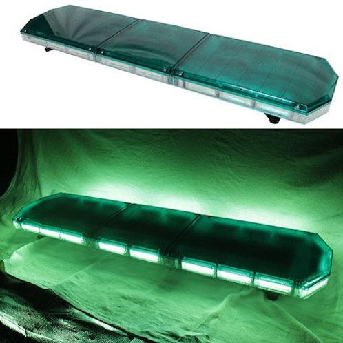 全長120cm LED 回転灯 パトライト ラウンドタイプ【グリーン】