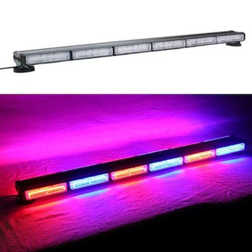 全長96cm LED 回転灯 パトライト バータイプ 赤 + 青