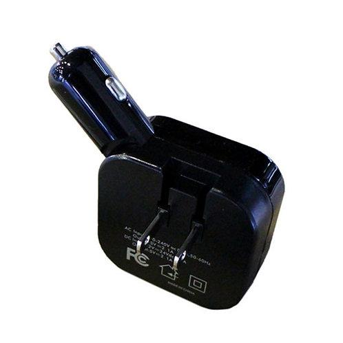 シガーソケット&コンセント ツイン充電器