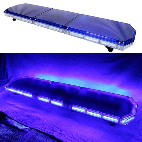 全長120cm LED 回転灯 パトライト ラウンドタイプ【ブルー】