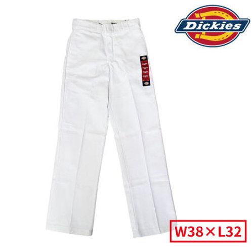 Dickies 874 WH(ホワイト) ディッキーズ ワークパンツ レアカラー!W38×L32