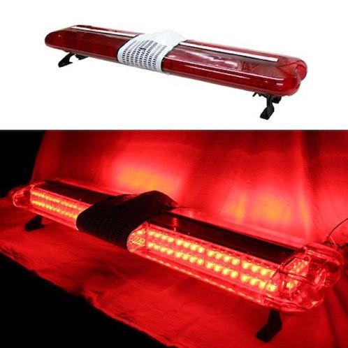 全長120cm LED パトライト 回転灯 ユニットタイプ レッド