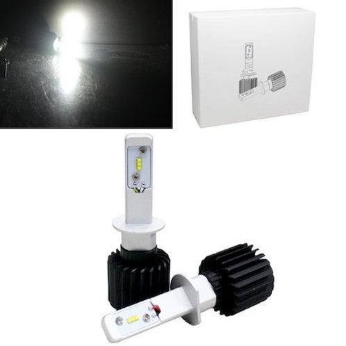 ★ファンレスモデル★ LEDヘッドライト H1 12~24V対応 6000K 4000lm