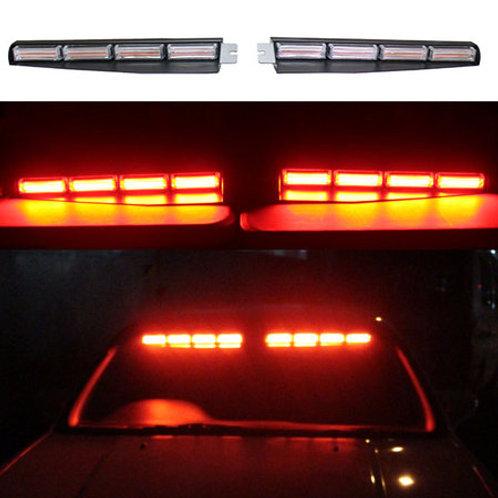LED 回転灯 パトライト バイザータイプ【レッド】