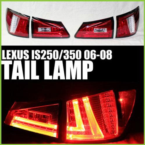 LEXUS(レクサス) IS250 / IS350 06-08 テールランプ