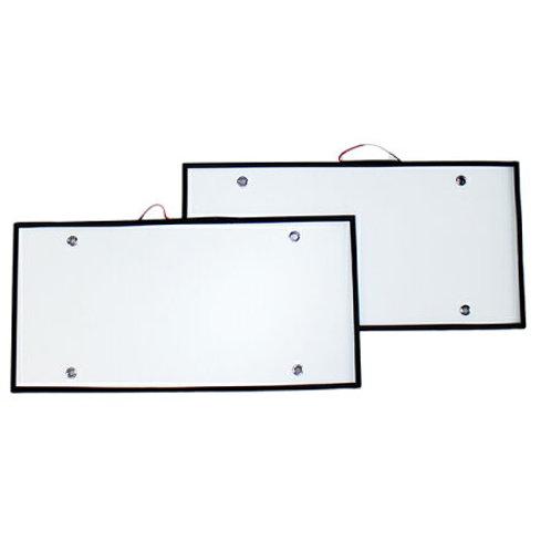LED字光式ナンバープレート ホワイト 大型車専用[24V]