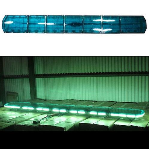 全長240cm LED 回転灯 パトライト ラウンドタイプ【グリーン】