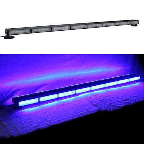 全長127.5cm LED 回転灯 パトライト バータイプ 青