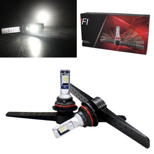 ★アメ車★ LEDヘッドライト HB5 アルミフィン冷却タイプ 5000lm 6500K