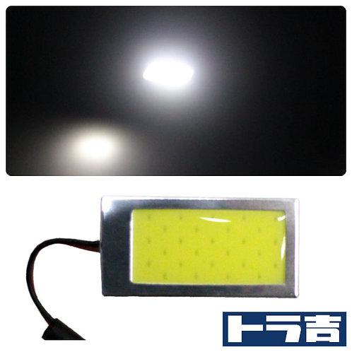 トラ吉 LEDルームランプ COBタイプ ホワイト 42×22