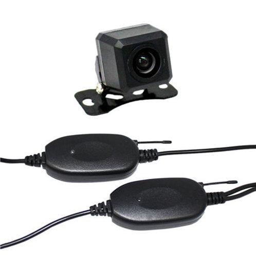バックカメラ ワイヤレスセット CCDセンサー・170°レンズ 正像・鏡像切替 ガイドラインON/OFF