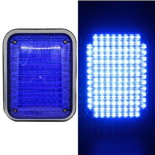 LED パトライト 回転灯 ミニユニットタイプ【ブルー】