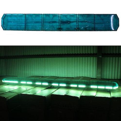 全長210cm LED 回転灯 パトライト ラウンドタイプ【グリーン】