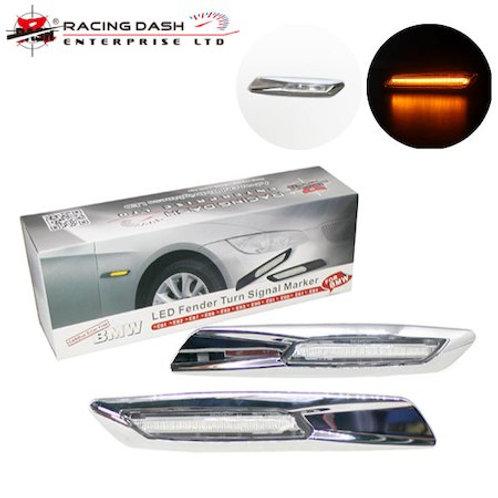 レーシングダッシュ LEDサイドマーカー クリスタル アンバー