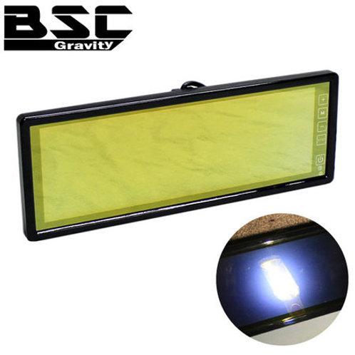 10.2インチ 3分割 TFT-LCD ミラーモニター ゴールドミラー仕様
