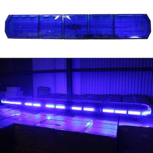 全長180cm LED 回転灯 パトライト ラウンドタイプ【ブルー】