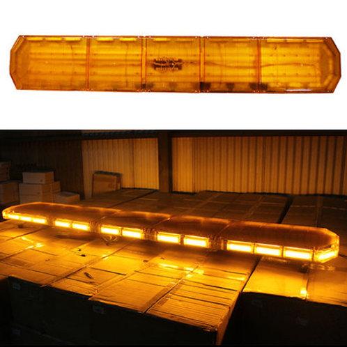 全長180cm LED 回転灯 パトライト ラウンドタイプ【アンバー】