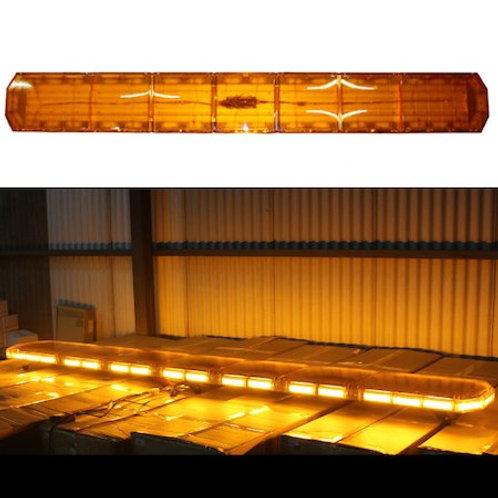 全長240cm LED 回転灯 パトライト ラウンドタイプ【アンバー】
