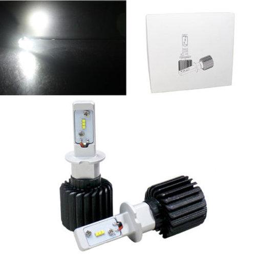 ★24V対応★ LEDヘッドライト ファンレスタイプ H3 12~24V対応 6500K 4000lm