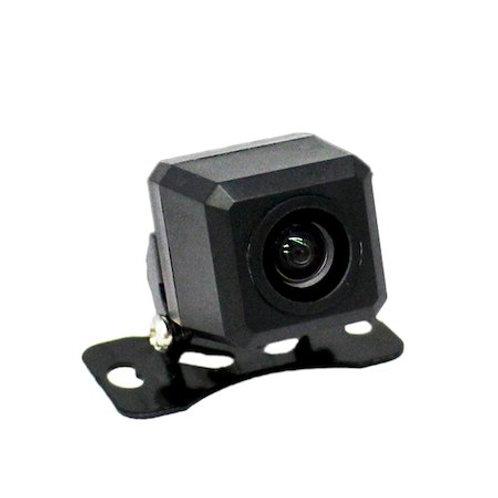 バックカメラ 四角型 CCDセンサー・170°レンズ 正像 or 鏡像切替 ガイドライン ON or OFF 切替 機能付
